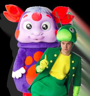 Лунтяш и Кузя